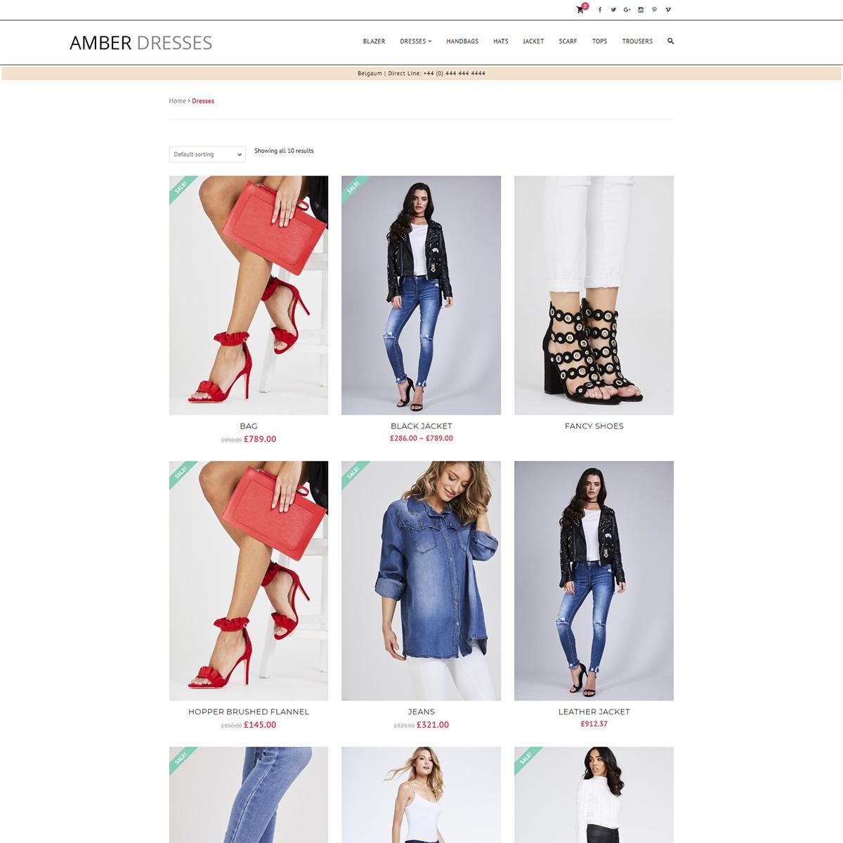 Amber Dresses